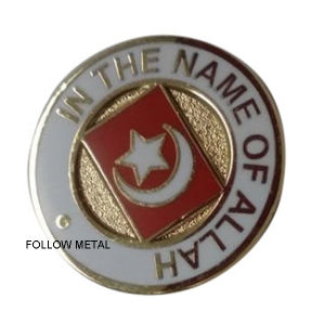 Badge with Lovely Animal Imitation Hard Enamel Process pictures & photos