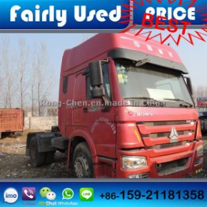 Used Sinotruck HOWO Truck Tractor 2 Axles 4*2 pictures & photos