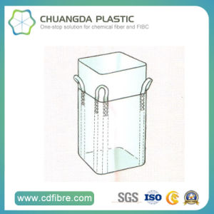 PP Woven Container Jumbo Big Ton Bag with Flat Bottom pictures & photos