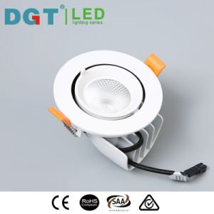 13W Aluminum Recessed Adjustable Spot Light pictures & photos