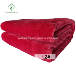 Fashion Flannel Blanket for Sofa Bed Winter Warm Soft Bedsheet pictures & photos