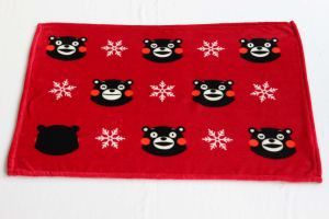 Flannel Fleece Blanket with Kumamon / Baby Blanket pictures & photos