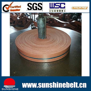 Rubber Transmission Belt Flat Belts Sandwich Belt pictures & photos