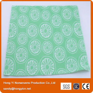 Viscose Fabric Cloth, Needle Punched Nonwoven Fabric Cleaning Cloth pictures & photos