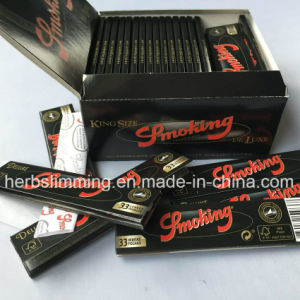 50 Booklets Smoking Ultra-Thin Rolling Papers Premium 110X45mm King Size pictures & photos