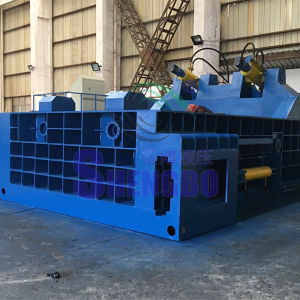 Automatic Stainless Steel Scrap Baling Press Machine pictures & photos