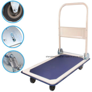 Heavy Duty Folding Fridge Paltform Hand Trolley pH300 pictures & photos