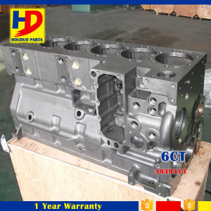 Diesel Excavator Engine Parts Single Thermostat 6CT (3939313) Cylinder Block pictures & photos