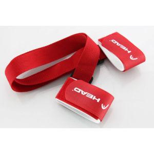Promotional Custom Nylon EVA Hook Loop Ski Strap pictures & photos