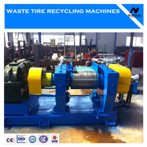 Waste Tire Recycling/Rubber Cracker Mill/Tire Crusher Machine pictures & photos