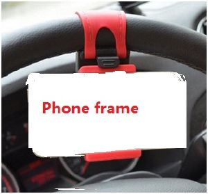 Automobile Steering Wheel Mobile Phones Holder pictures & photos