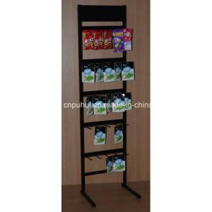 Floor Standing Metal Store Rack (pH15-362) pictures & photos