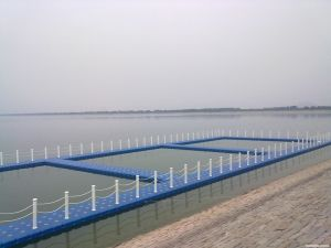 Modular Plastic Floating Fishing Pontoon pictures & photos