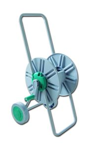 High Quality Two Wheels Steel Garden Water Hose Reel Cart pictures & photos