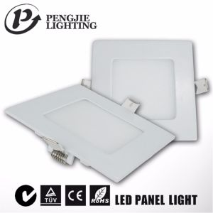 6W Square LED Panel Light Ultra Thin LED Panel pictures & photos