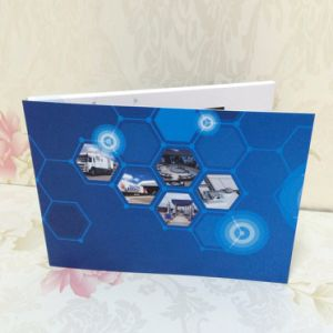 Custom Player Mailable Invitation LCD Screen Video Greeting Card for Advertising pictures & photos