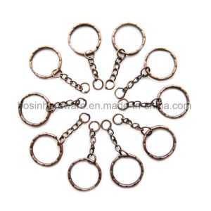 Fashion Copper Metal Key Ring Finding pictures & photos
