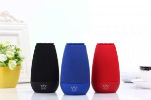 Daniu Brand 3W Wsa-8616 New Cloth Art HiFi Bluetooth Speaker Private Model Multifunctional Mini Speaker Desktop Speaker Send Now