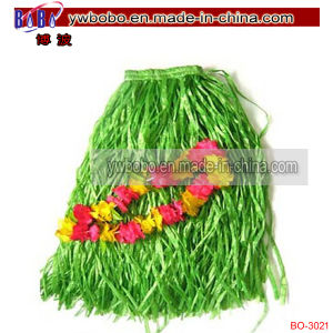 Luau Decoration Hawaiian Party Items Grass Skirt Promotional Lei (BO-3021) pictures & photos