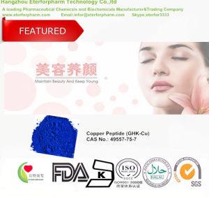 Copper Peptide/Ghk-Cu Peptide Skin Care Antiaging Cosmetics Raw Materials