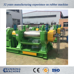 Rubber Mill, Two Roll Mixing Mill with Water Cooling System pictures & photos