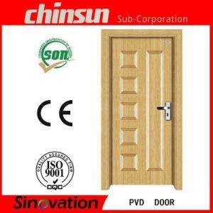 Wooden PVC Doors Design (SV-P012) pictures & photos