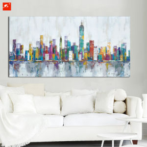 Architecture Abstract Wall Art Citycape Oil Painting pictures & photos