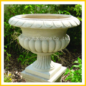 Granite and Marble Stone Flowerpot & Planter for Garden pictures & photos