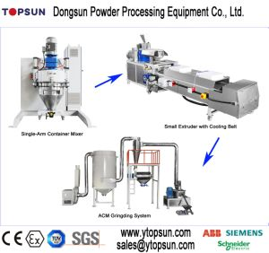 New Style Small Volume Powder Coating Production Line pictures & photos