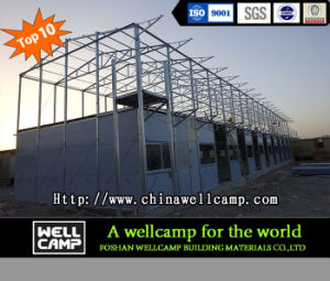 Two Floor Mobile Modular Prefabricated House Labor Camp Accomodation in Thailand Project pictures & photos