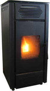 Freestanding Wood Burning Fireplace Pellet Stove pictures & photos