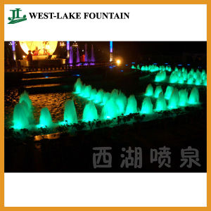 Colorful Changeful DOT-Matrix Bubbling Spring Water Fountain pictures & photos