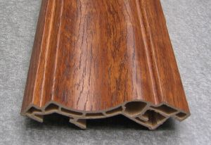 Wood Desige PVC Shirting Board (HDAA-10) pictures & photos