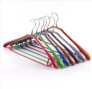 PVC Coated Metal Clothes Hanger (JM8563)