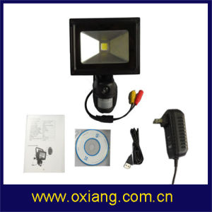HD Waterproof Monitor and Record Camera with PIR Sensor Floodlight pictures & photos