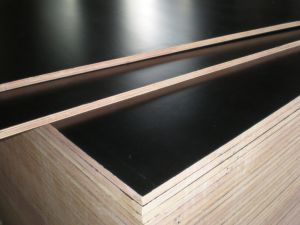 Poplar Core 12mm Brown Black Film Faced Plywood pictures & photos