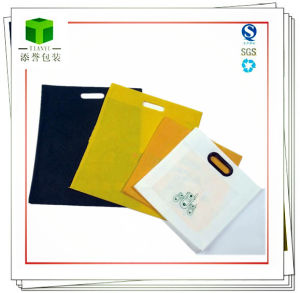 Customized Non-Woven Handle Bag for Clothes, Food, Goods pictures & photos