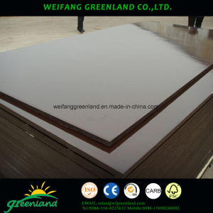 21mm Two Time Hot Press Quality Brown Fillm Faced Plywood pictures & photos