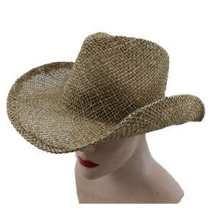 2015 New Style Cowboy Straw Hat (GK15-S1067) pictures & photos