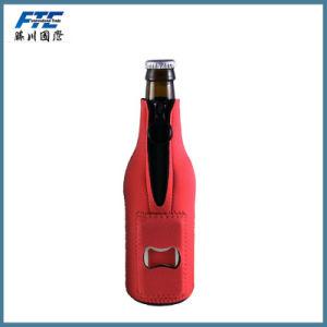 OEM Neoprene Beer Can Holder Bottler Cooler with Bottle Opener pictures & photos
