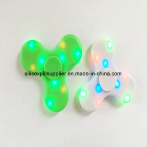 Newest LED Colorful Hand Bluetooth Speaker Music Fidget Spinner pictures & photos