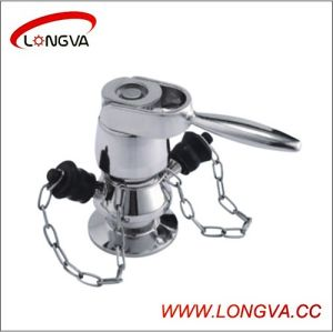 Sanitary Stainless Steel Aseptic Clamped Sampling Valve pictures & photos