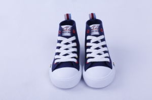 Vulcanized Shoes Rubber Outsole Canvas Bz1615 pictures & photos
