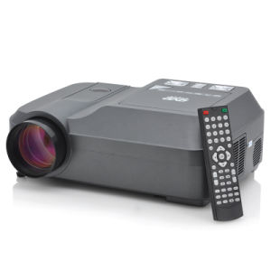 Home Theater Projector - Built-in DVD Player, 200 Lumens, 800X600