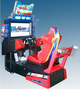 "Game Machine 32"" out Run Driving Car Game Machine pictures & photos"