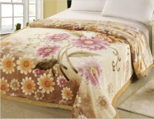 New Design 100% Polyester Raschel Blanket