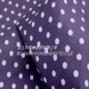 Printed Polyester Pongee Fabric