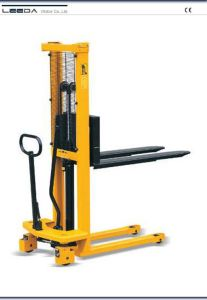 Hand Stacker with Double Action Hydraulic (HL-KS Series) pictures & photos