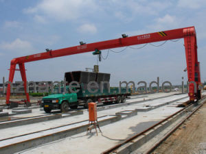Single Girder Gantry Crane Used in Railway Yard (MH15T-25M-15M) pictures & photos