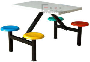 Simple Design Student Canteen Table Chair for School Furniture pictures & photos